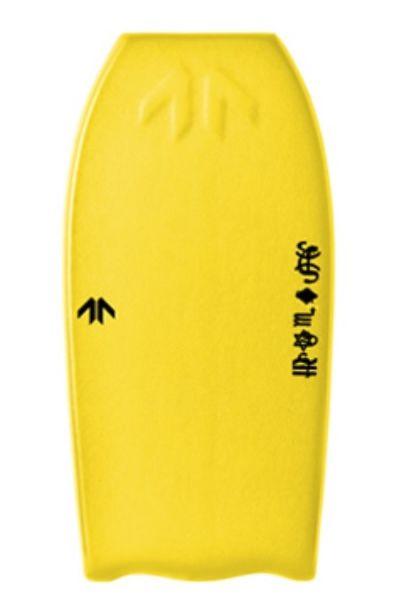 Prancha Bodyboard Found Boards MR AIR Yellow/Black