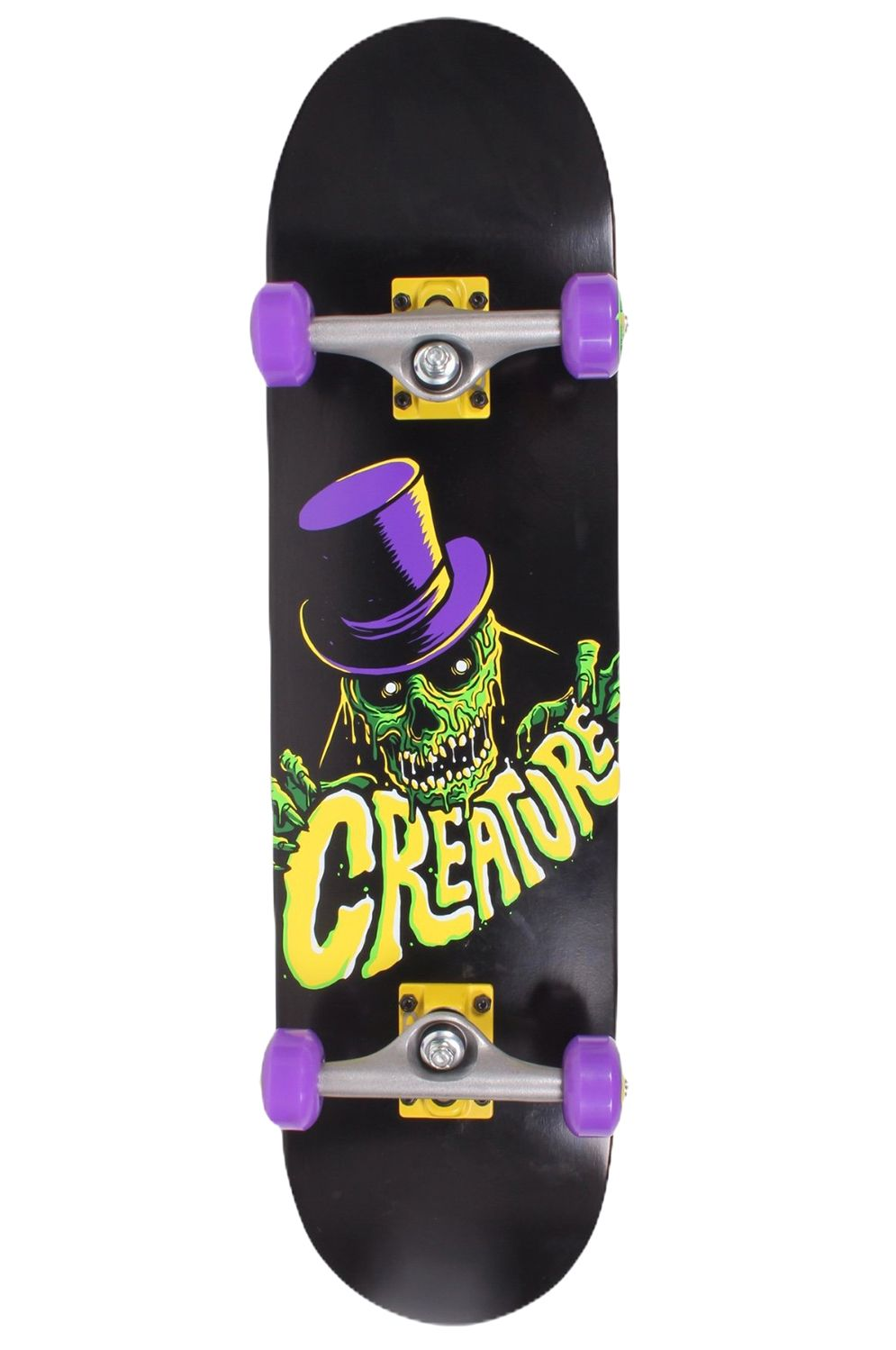 Street Skate Creature CRYPT KEEPER MINI SK8 COMPLETES 7.75