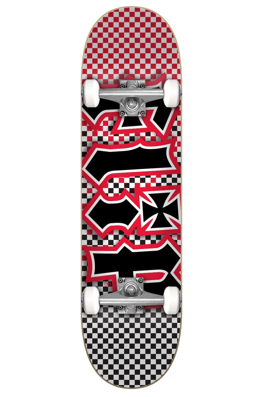 """Flip Skate 7.87"""" X 31.6"""" HKD FAST TIMES RED Assorted"""
