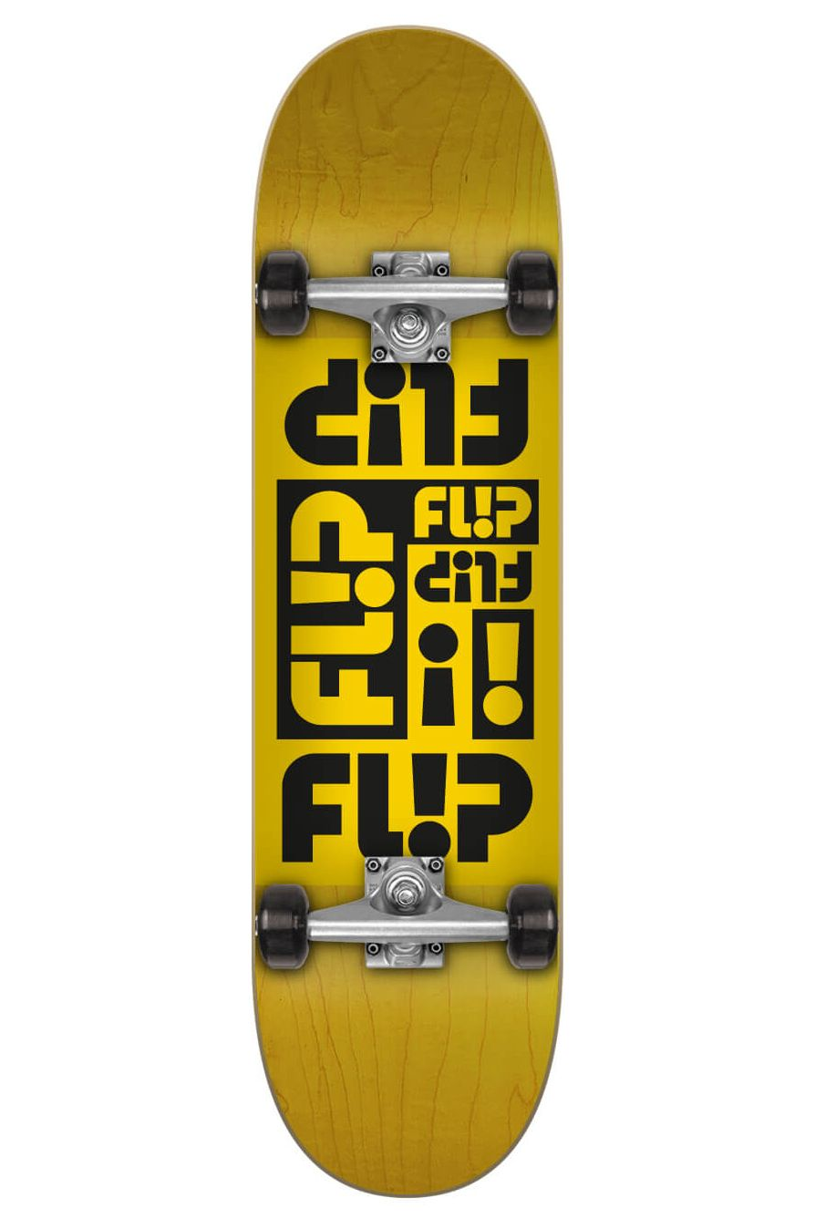 """Flip Skate 7.87"""" X 31.6"""" MULTI ODSSEY YELLOW Assorted"""