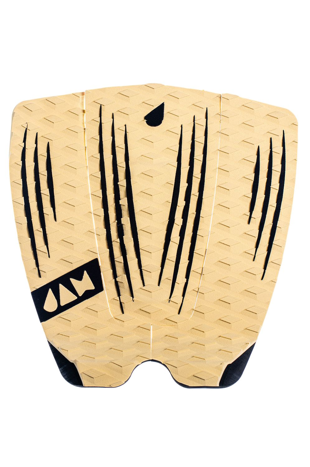 Jam Deck RECKLESS 3 PIECE TRACTION PAD Brown/Black Stripes