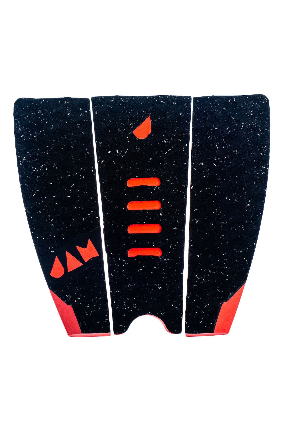 Jam Deck MINI-ME SMALL 3 PIECE TRACTION PAD Black/Red Dotted
