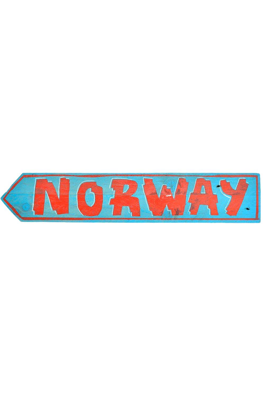 VR Diversos Sinal NORWAY Blue