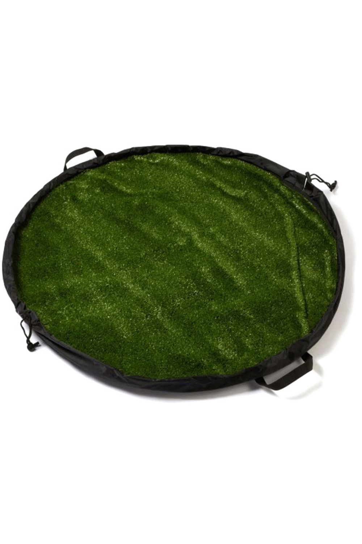 Tapete Northcore GRASS MAT LUXURY Black/Green