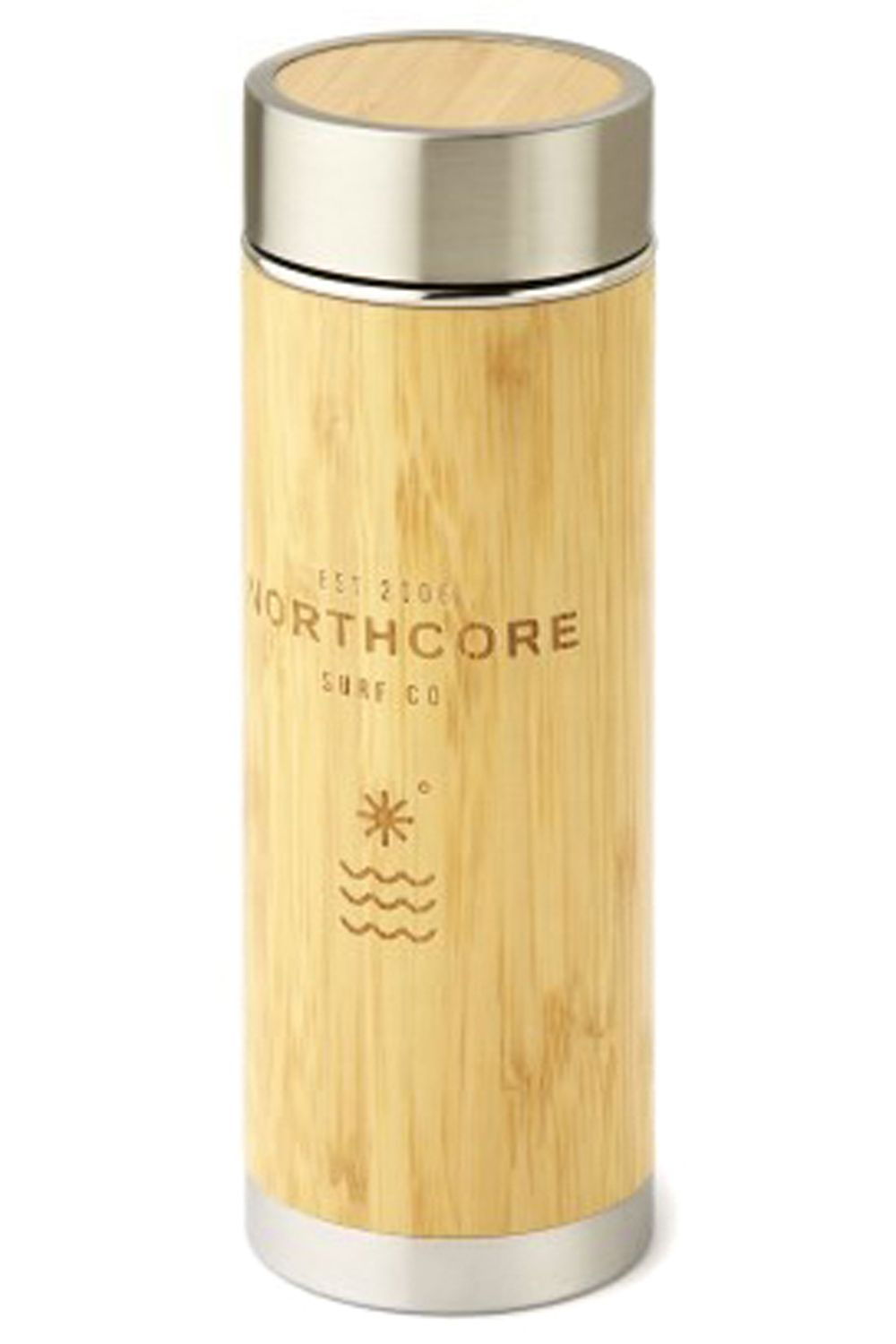 DV Northcore Termo BAMBOO STAINLESS STEEL 360ML Bamboo