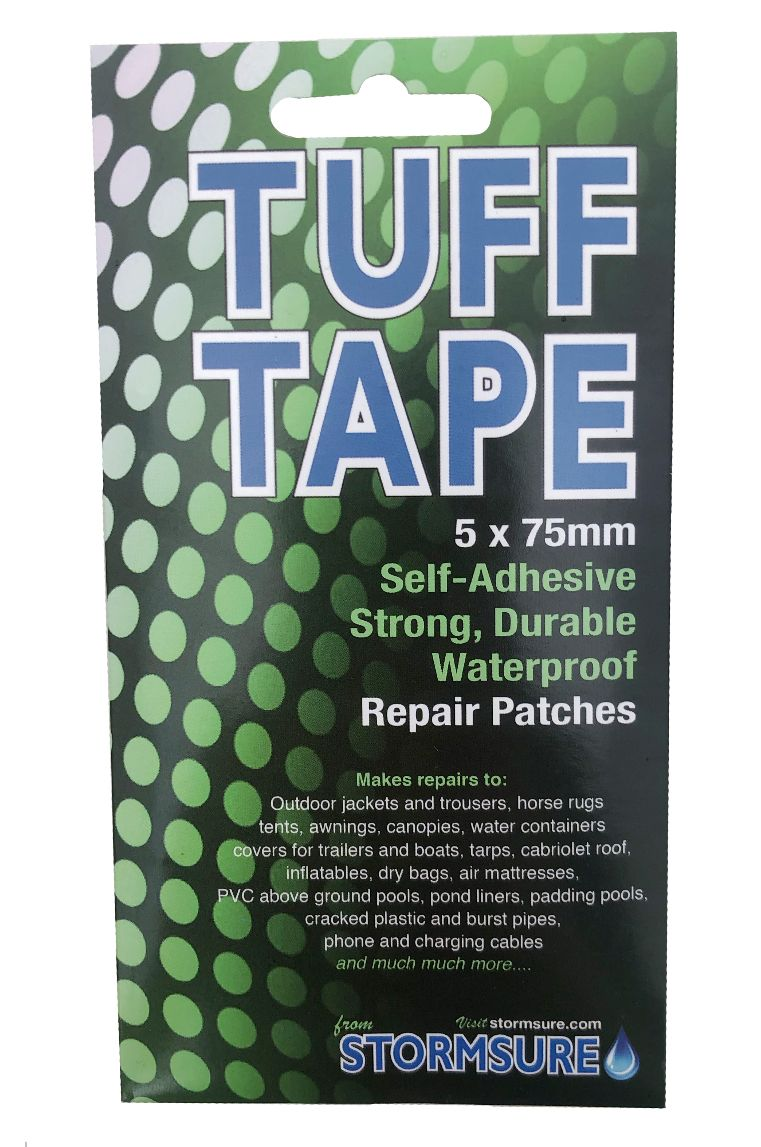 Stormsure Repair Kit TUFF TAPE 5PK 75MM DING PATCHES Assorted