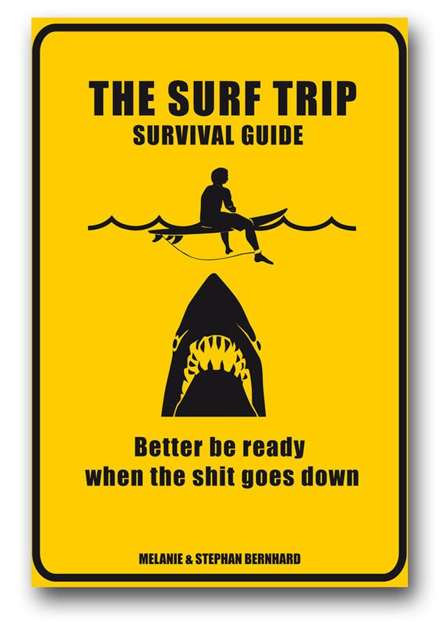 VR Book SURF TRIP SURVIVAL GUIDE Assorted