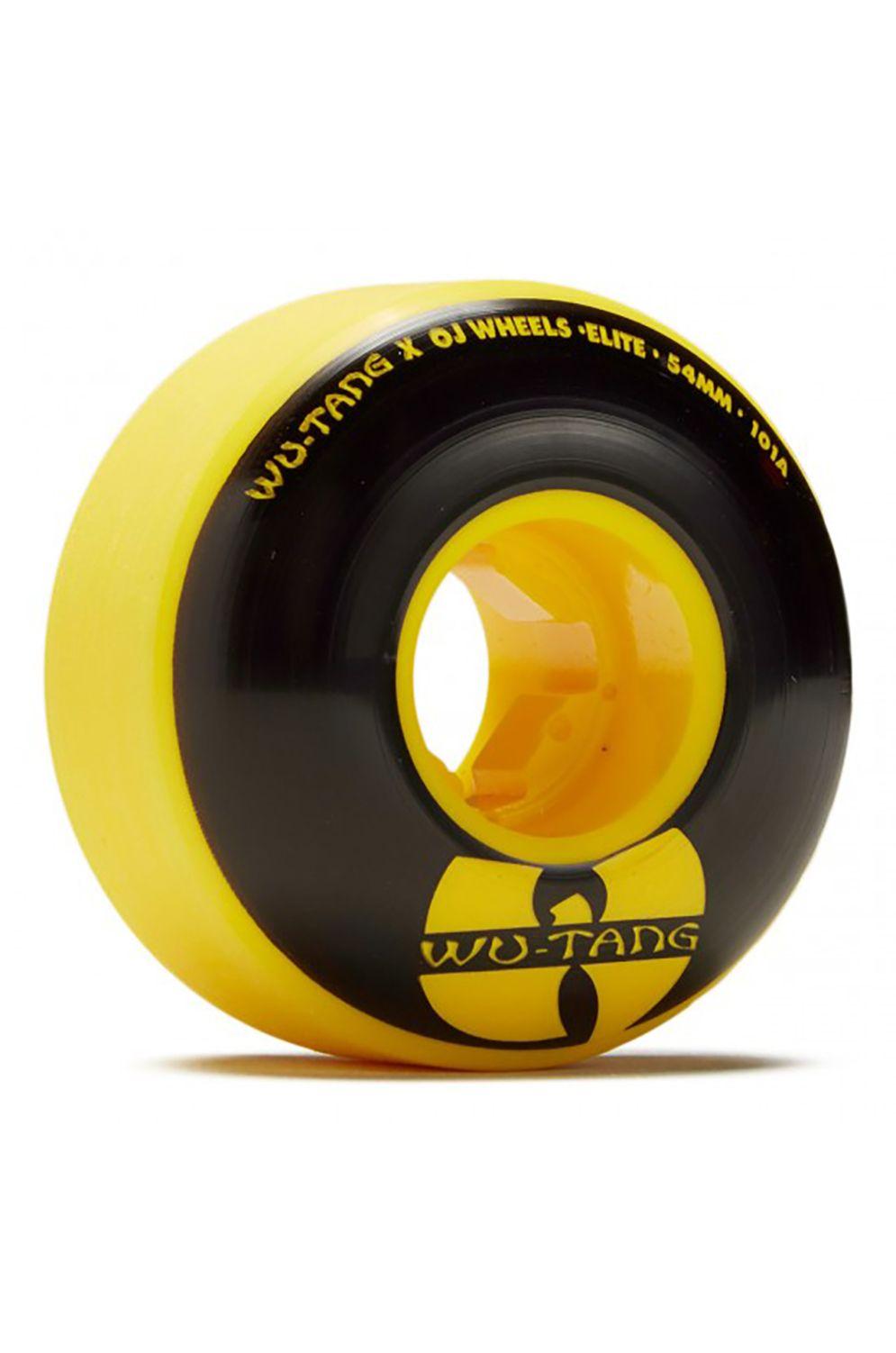 OJ Wheels Skate Wheels 54MM WU-TANG ELITE EZ EDGE 101A Black
