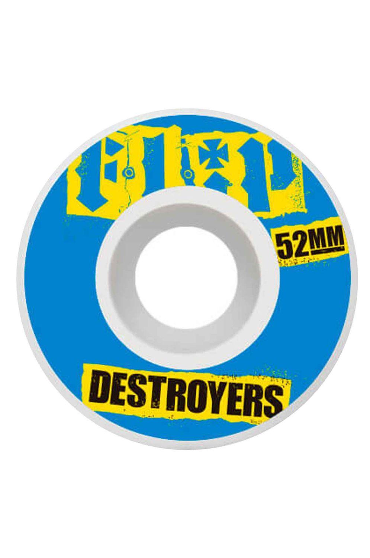 Flip Skate Wheels 52MM CUTBACK 99A Blue