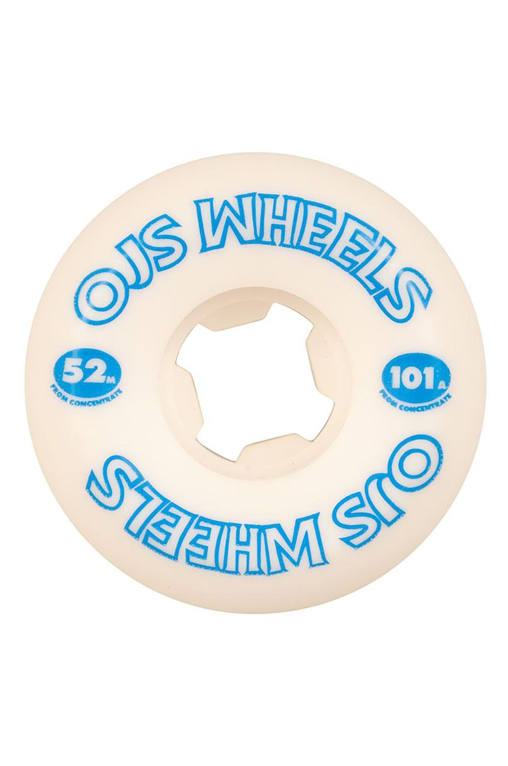OJ Wheels Skate Wheels 52MM FROM CONCENTRATE HARDLINE 101A Assorted