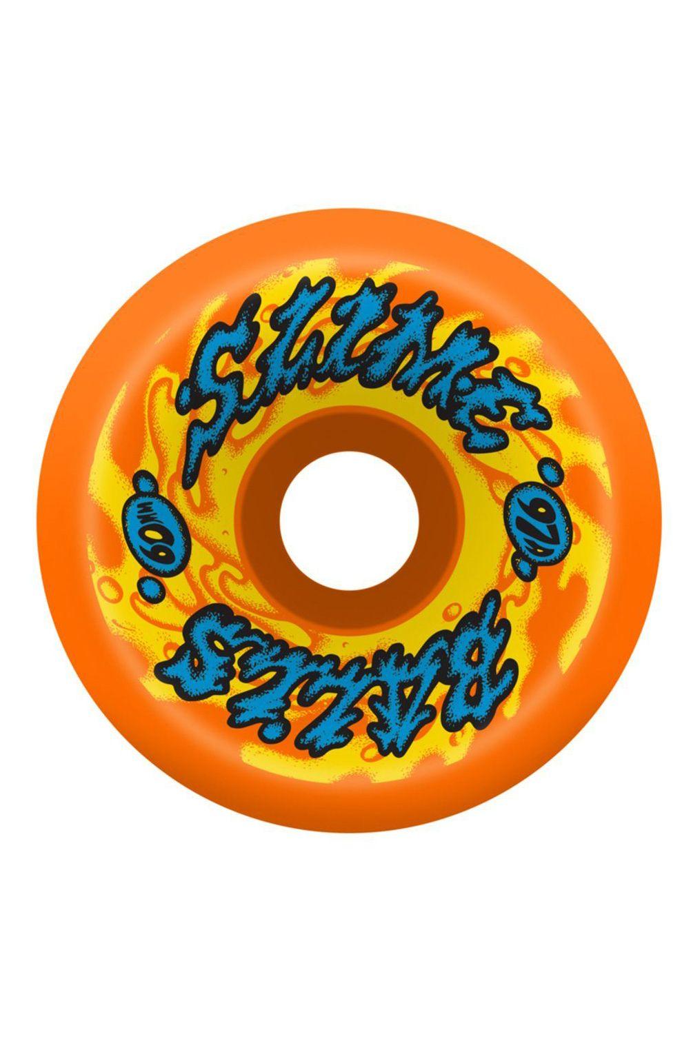 Rodas Slime Balls 60MM GOOOBERZ VOMITS ORANGE 97A Assorted