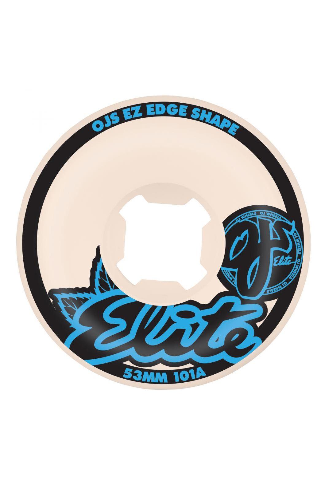 Rodas OJ Wheels 53MM ELITE EZ EDGE 101A White