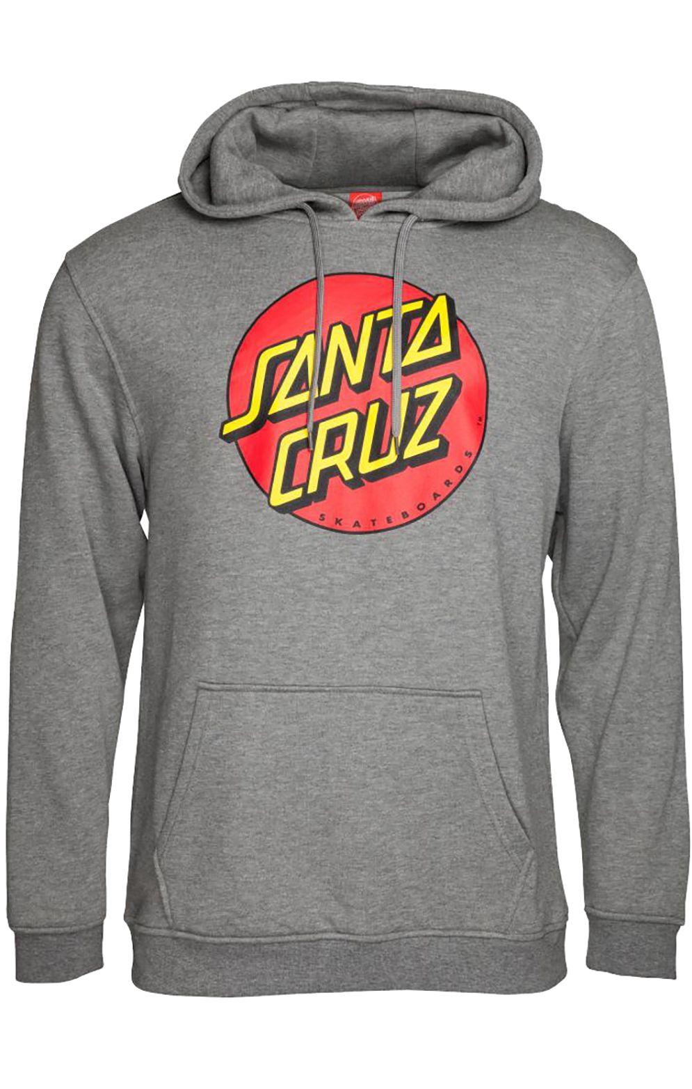 Sweat Capuz Santa Cruz CLASSIC DOT Dark Heather