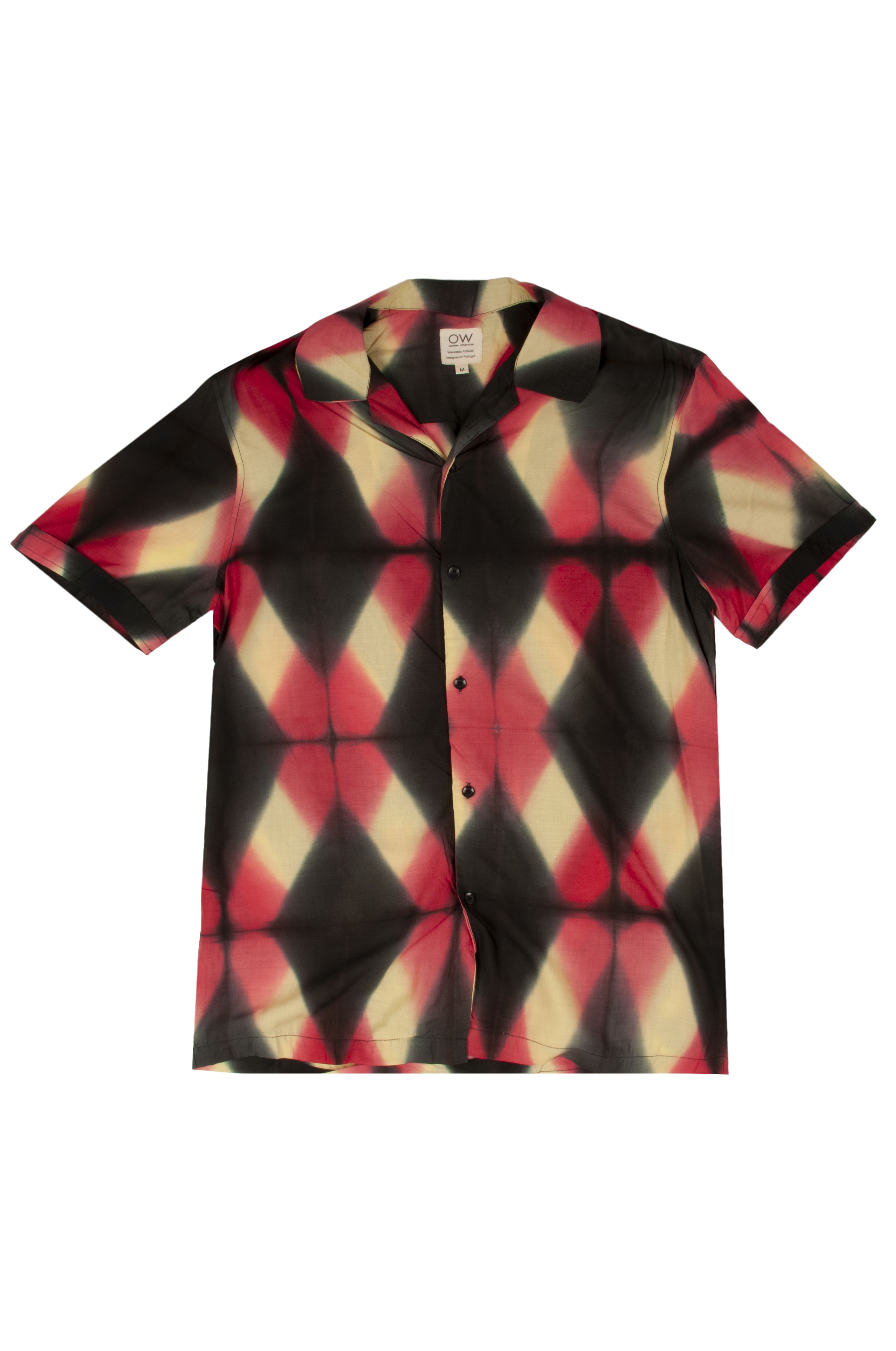 Camisa Otherwise J029 Black/Red/Yellow