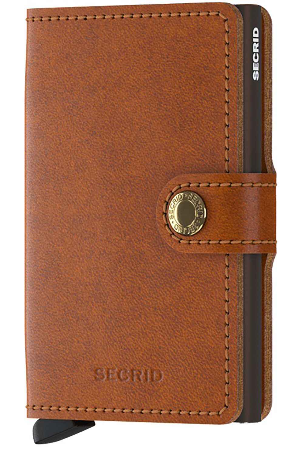 Carteira Pele Secrid MINIWALLET ORIGINAL Cognac/Brown