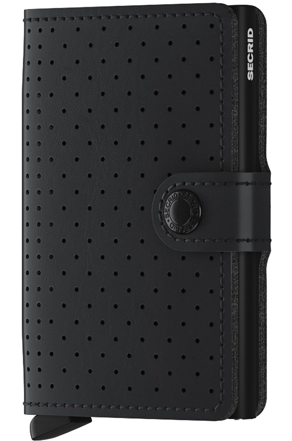 Carteira Pele Secrid PERFORATED MINI Black