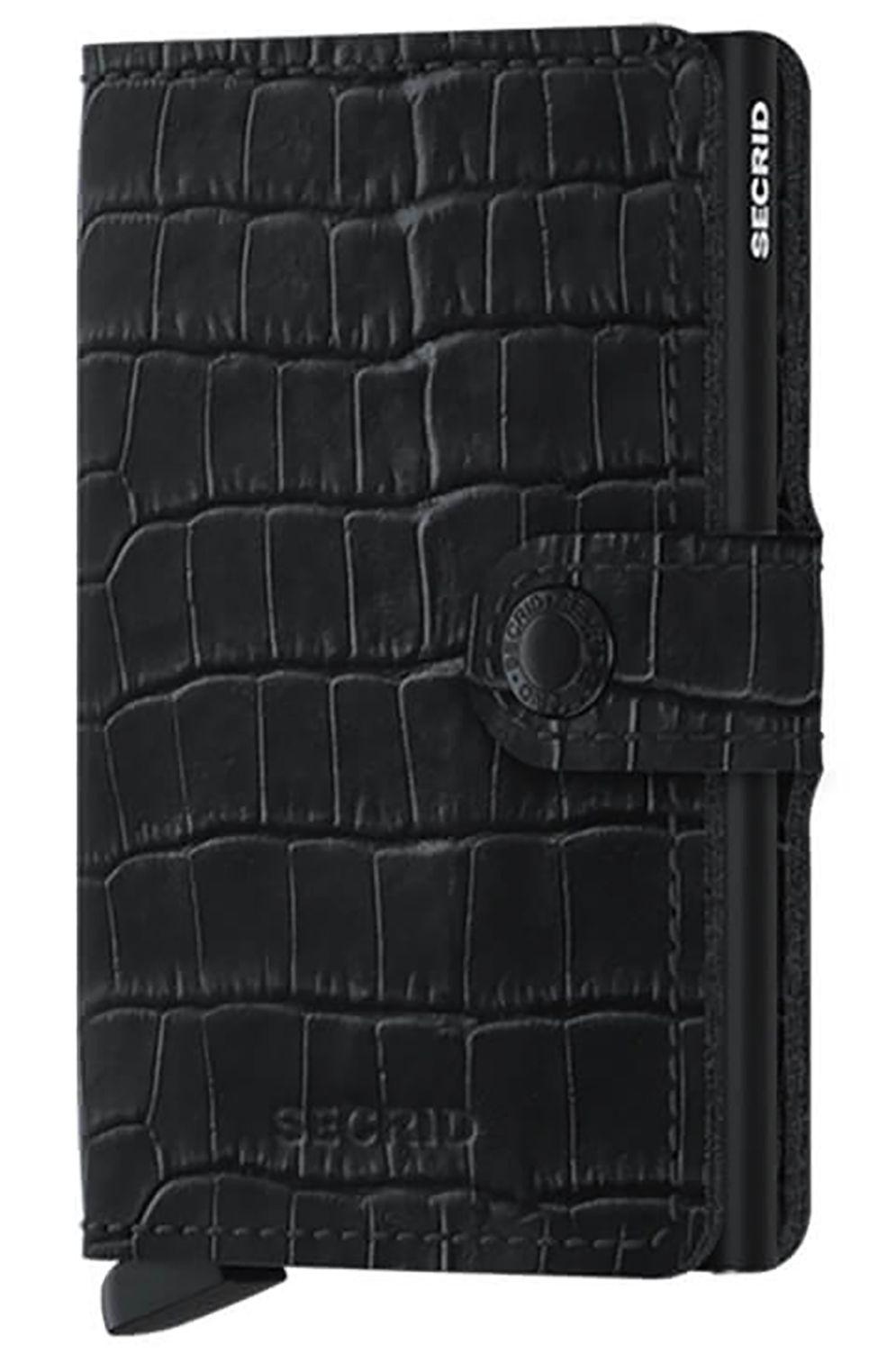Secrid Leather Wallet MINIWALLET CLEO Black