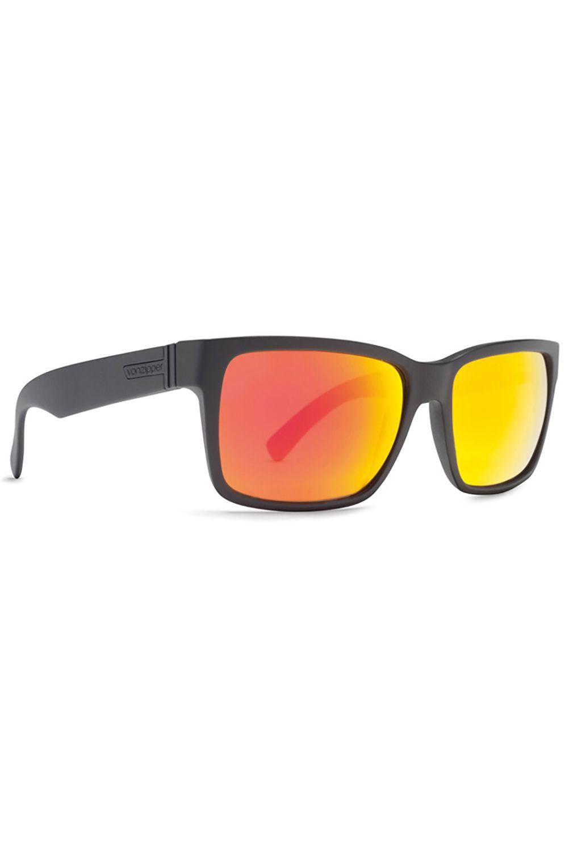 Oculos VonZipper ELMORE Black Satin / Lunar Chrome