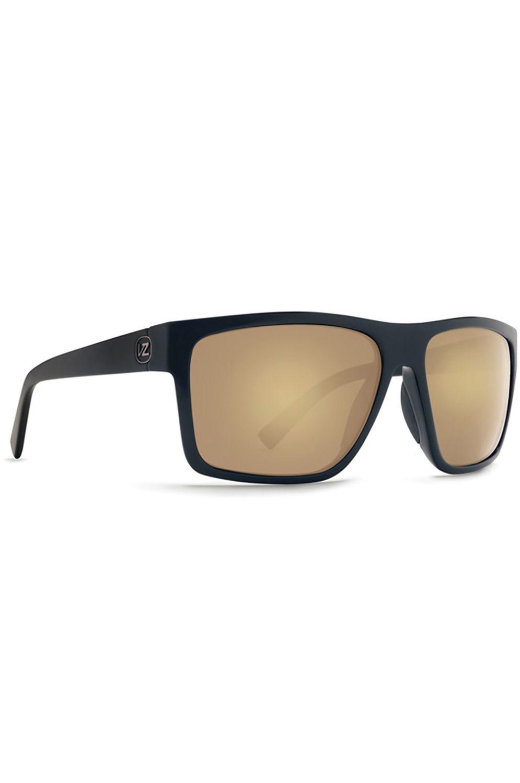 Oculos VonZipper DIPSTICK Black Satin-Gold / Grey