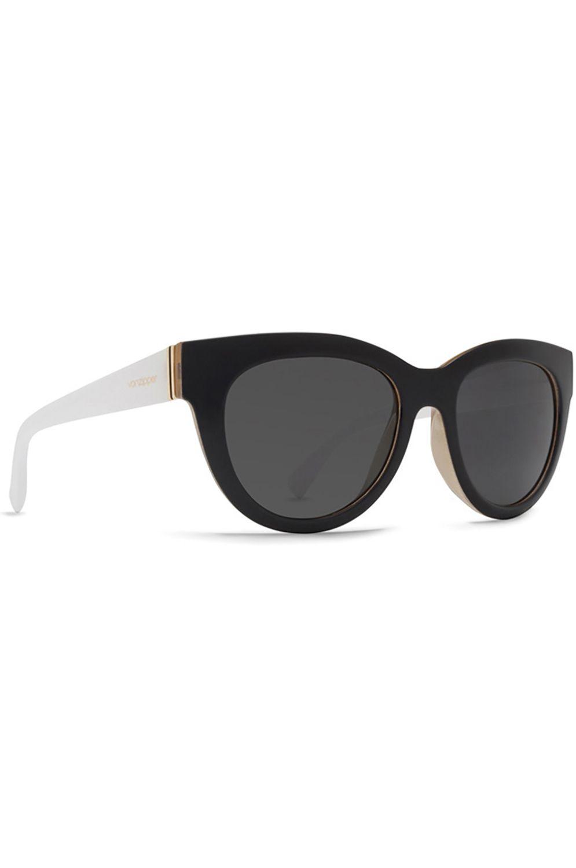 Oculos VonZipper QUEENIE Black Buff White Gloss / Vintage Grey