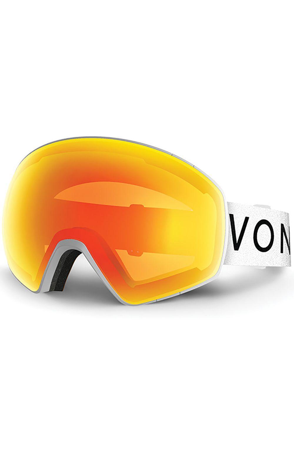 VonZipper Goggles JETPACK White Satin / Fire Chrome