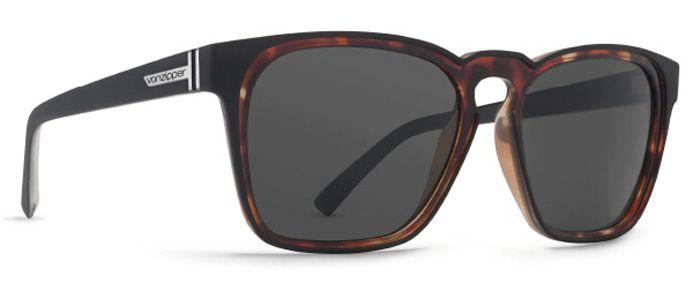 Oculos VonZipper LEVEE Black Satin Tort / Grey