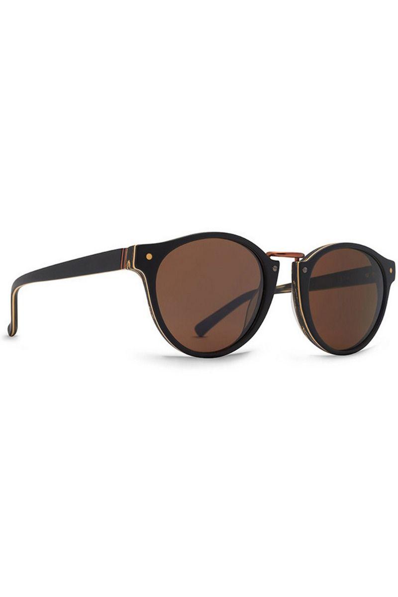 Oculos VonZipper STAX (FCG) BlackWood Satin / Bronze