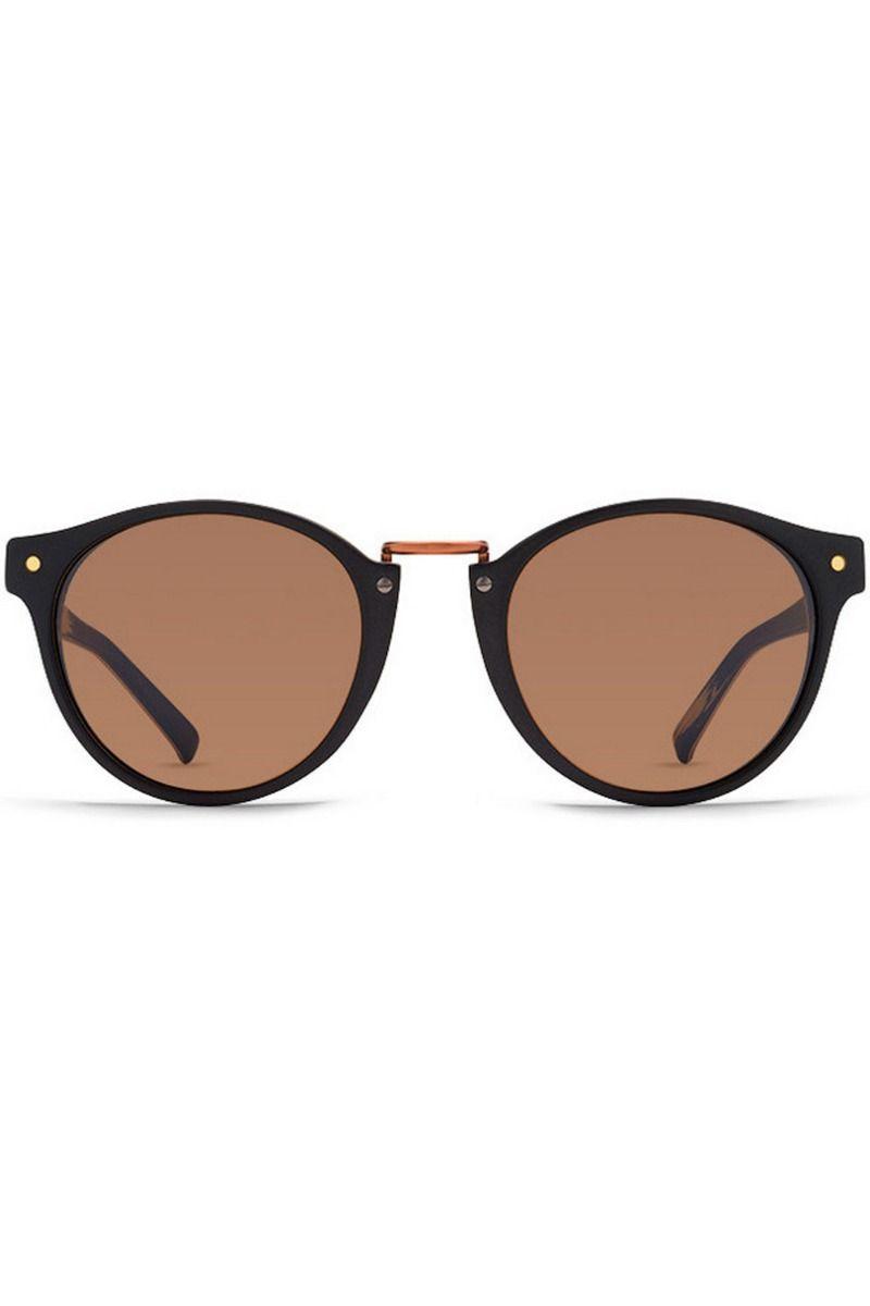 VonZipper Sunglasses STAX (FCG) BlackWood Satin / Bronze