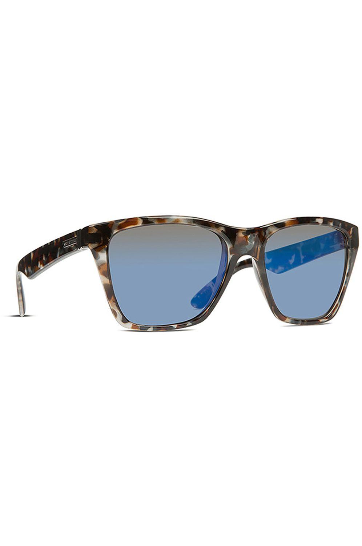 d68b825ea Oculos VonZipper BOOKER Quartz Tort Gloss   Blue Chrome