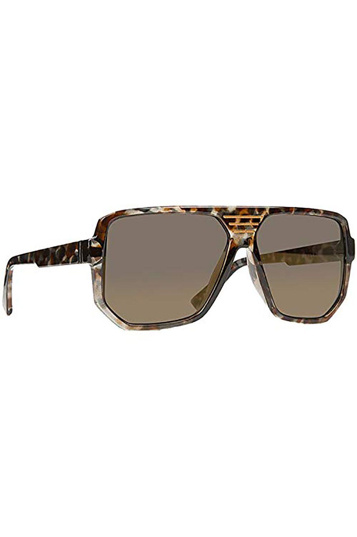 VonZipper Sunglasses ROLLER Liquid Smoke / Grey Silver Chrome Gradient