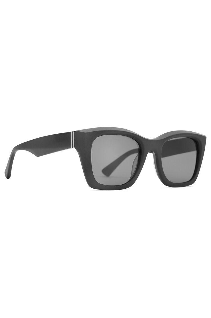 VonZipper Sunglasses JUKE Black Satin/Grey