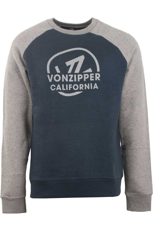 Sweat Basica VonZipper REVAMP Navy