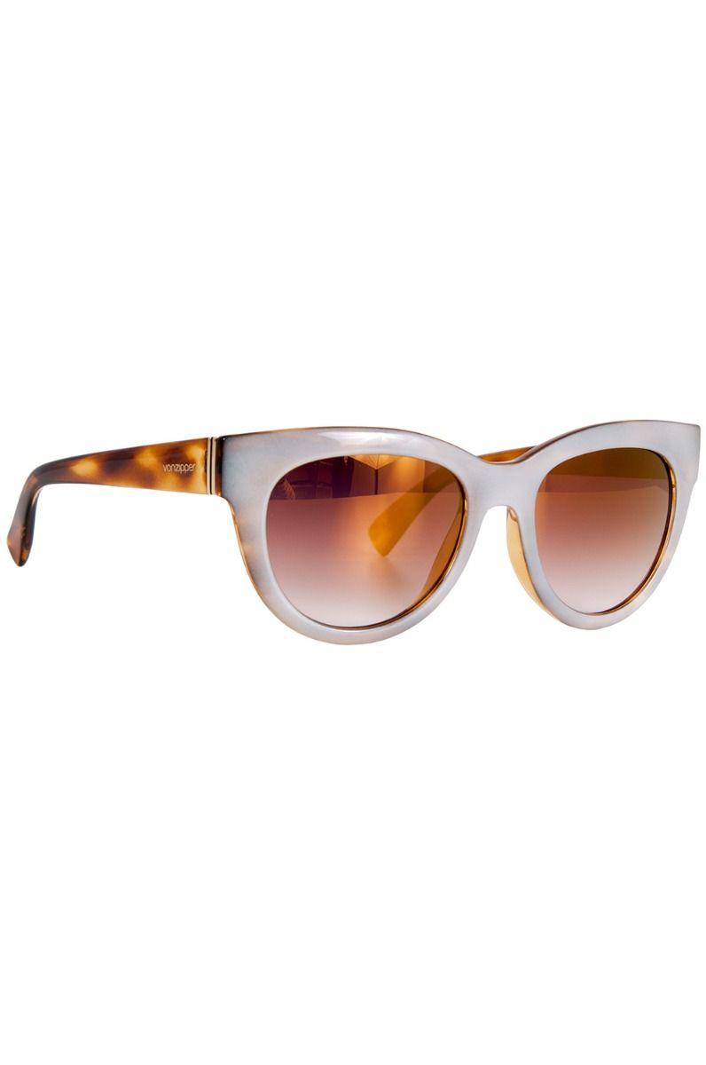 Oculos VonZipper QUEENIE Frosted Tort Gloss / Gold Chrome Gradient