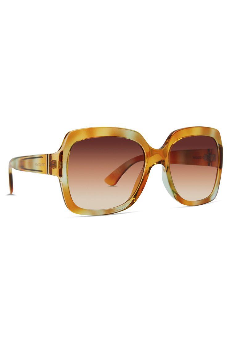 VonZipper Sunglasses DOLLS Magic Land Green/Tri-Bronze Gradient