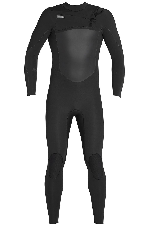 Xcel Wetsuit 3/2MM INFINITI X2 TDC THERMO LITE FULLSUIT All Black 3x2mm
