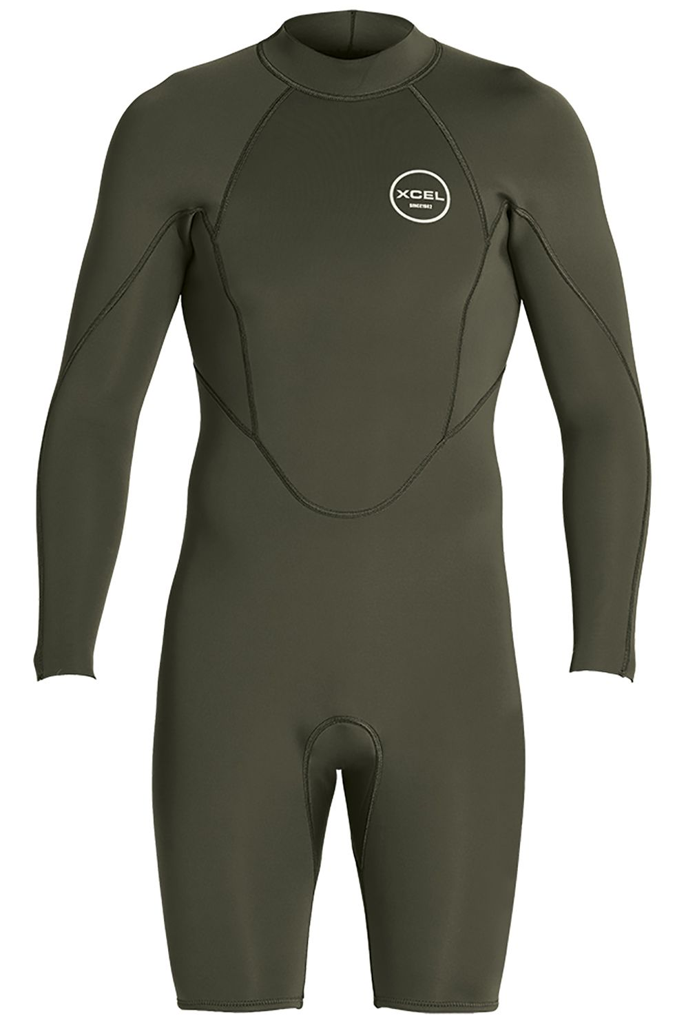 Fato Neoprene Xcel M AXIS L/S SPRING SUIT 2MM Dark Forest 2mm