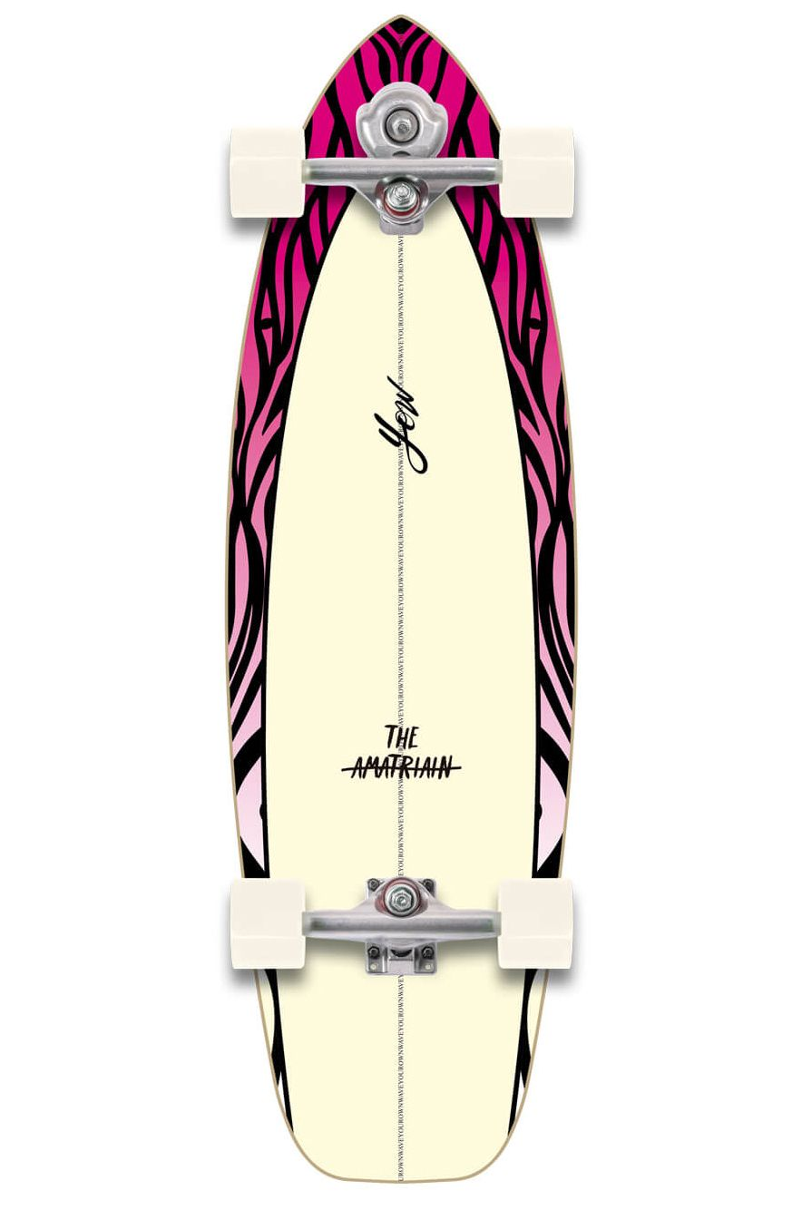 "Yow Surf Skate 33.5"" AMATRIAIN SIGNATURE SERIES Assorted"