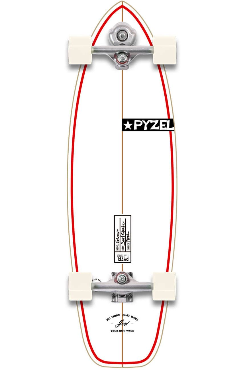 """Yow Surf Skate 33.5"""" GHOST PYZEL X YOW Assorted"""