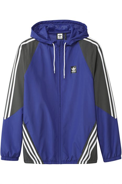 5ba49deec Adidas Jacket Wind Breaker INSLEY Active Blue/Dgh Solid Grey/White