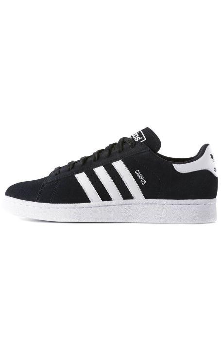 e04427a6fea Tenis Adidas CAMPUS Core Black Ftwr White Chalk White