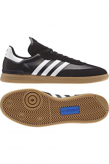 0e077167ff Tenis Adidas SAMBA ADV Core Black Ftwr White Gum4