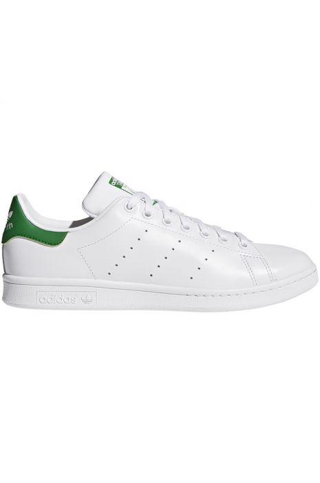 Adidas Shoes STAN SMITH Ftwr WhiteCore WhiteGreen