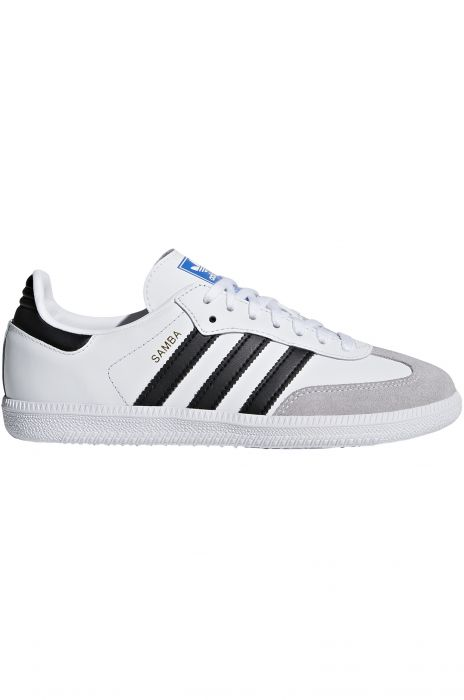 637c2f5d28c Tenis Adidas SAMBA OG Ftwr White Core Black Clear Granite