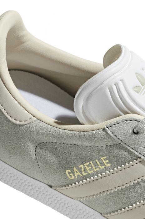 Existencia Tesoro Señora  Adidas Shoes GAZELLE Ash Silver/Clear Brown/Ecru Tint S18