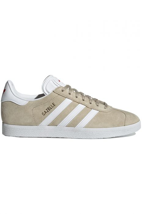 Tenis Adidas GAZELLE W SavannahFtwr WhiteGlory Red