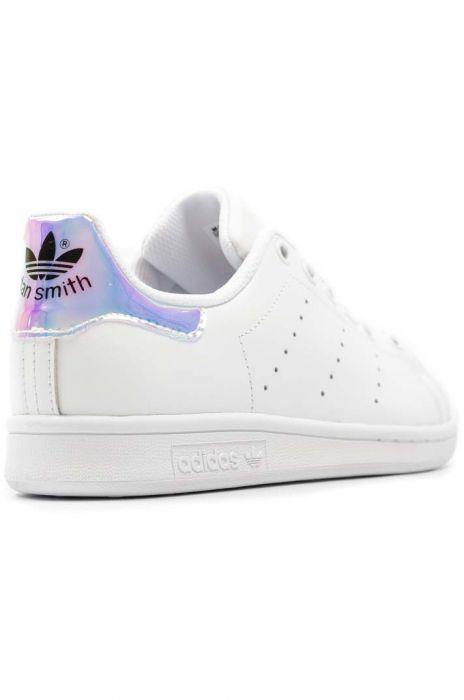 País de origen Contra la voluntad Nueva llegada  Adidas Shoes STAN SMITH Ftwr White/Metallic Silver-Sld/Ftwr White 36