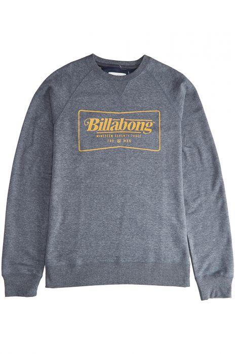 BILLABONG Jersey Broke Sweater Navy