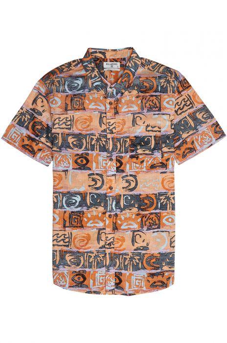 111579ee462c Camisa Billabong SUNDAYS FLORAL SS Orange