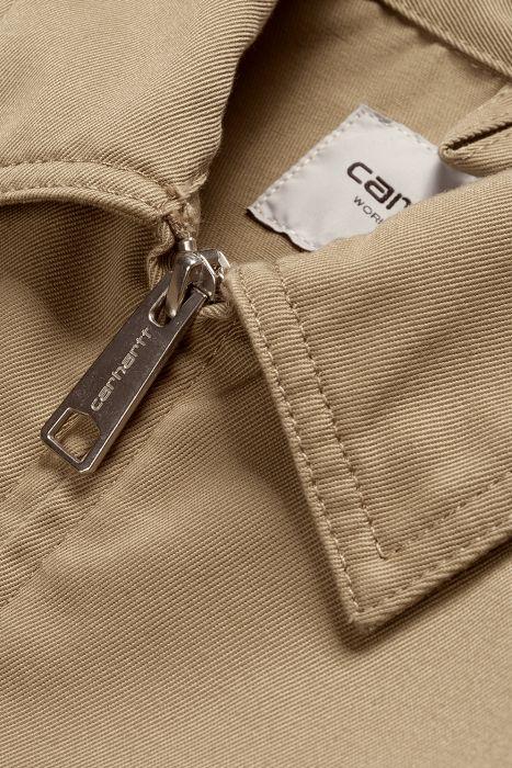 Casaco Carhartt WIP MODULAR Leather Rinsed