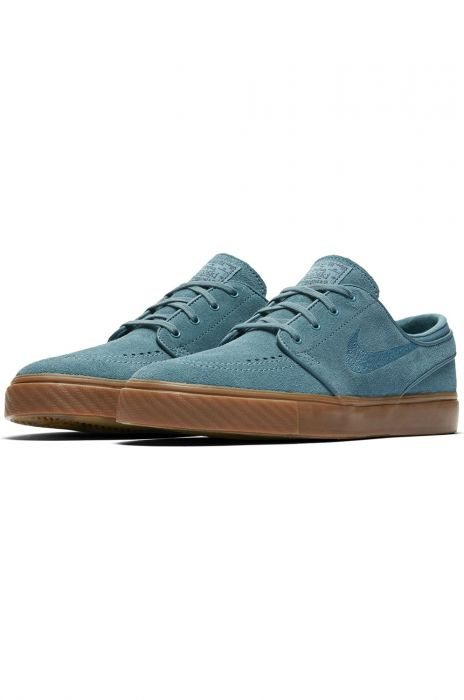 Continuación montaje Sin alterar  Nike Sb Shoes NIKE ZOOM STEFAN JANOSKI Noise Aqua/Noise Aqua-Thunder  Blue-Gum Dk Brown-Gum Med Brown-Gum Lt Brown 42